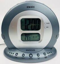 Homedics SS-5000 Sound Spa Projection Alarm Clock Radio 6 Nature Sleep Sounds