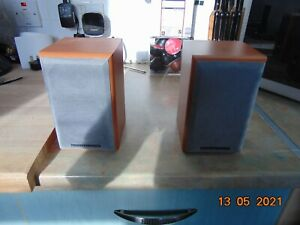 mordaunt-short small speakers in good condition model ms302 15-50w