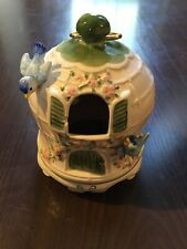 Schmid Music Box - Blue Jays - Moving Blue Jay - Don't Cry For Me Argentina Used