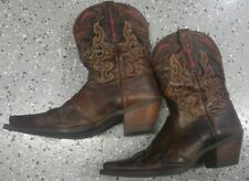 Ariat Womens Wichita Boots Sassy Brown Classic Point Toe Cowboy Boots Size 8B
