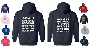 IF YOU CAN READ THIS PLEASE PUT ME BACK ON HORSE / PONY Children's / Kids HOODY