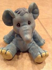 1998 Precious Moments Elephant Piggy Bank Plastic Enesco 4.5 Tall