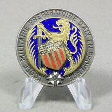 Insigne. Ecole Militaire Préparatoire Aix en Provence. Drago Paris dos lisse.