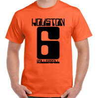 Rollerball T-Shirt Mens Classic Cult 70's Sci-Fi Movie Houston 6 Top James Caan