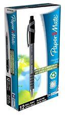 PaperMate Flexgrip Ultra stylo à bille avec Medium Pointe 1.0 mm-Encre noire, pack de 12