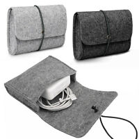Felt Sleeve Bag Pouch for CHARGER / MOUSE for Apple MacBook Pro, Retina & Air