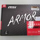 MSI AMD Radeon RX 570 Armor 8GB GDDR5 Graphics Card