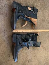 Women's Fiorentini +Baker black motorcycle boots, 39