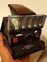 Polaroid SX-70 alpha 1 - model 2  camera TESTED & WORKING plus a new flash bar