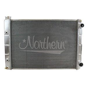 205182 Northern Double-Pass Aluminum Radiator for 67-69 Pontiac Firebird LS Swap