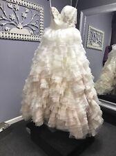 Brand New Beautiful Mori Lee 1924 Sz 10 Ombre Wedding Dress Nwt Never Worn