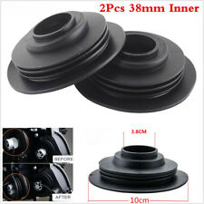 2x 38mm Rubber Cover LED HID Headlight Light Housing Seal Cap Dust Cover For Car