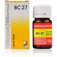 Dr. Reckeweg Bio-Combination 27(BC27) impotence, erection loss, early ejection,
