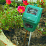 3 in 1 PH Tester Soil Water Moisture Light Test sensor Meter Garden Plant Flower