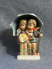 Goebel Hummel Germany 6 inch Ceramic Figurine Stormy Weather 71 Chipped Umbrella