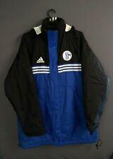 FC Schalke 04 Jacket Size XL Full Zip Vintage Retro Mens Football Adidas ig93
