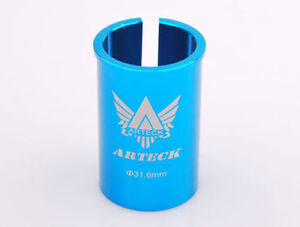 31.6/30.8/30.4mm Seatpost to 27.2mm Bicycle Seat Tube Sleeve Shim Adapter-50mm