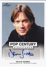 2013 LEAF POP CENTURY KEVIN SORBO AUTO #BA-KS2 SIGNATURE
