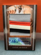 2008 Topps Sterling Eddie Murray Jumbo Patch And Auto #'d 10