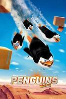 Penguins of Madagascar : Flying - Maxi Poster 61cm x 91.5cm new and sealed