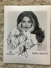 Model Kathy Ireland Signed, Personalized & Inscribed 8X10 PROMO PHOTO