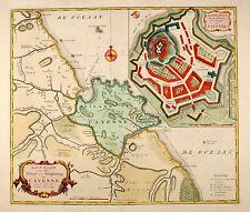 Cayenne Tirion 1765 Original Französisch-Guayana Guyane Südamerika South America