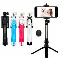Bluetooth Extendable Selfie Stick Monopod Tripod For Sony Xperia XZ3 XZ2 XZ1 XA1