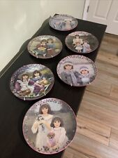 Set of 6 Collector's Plates by Chantal Poulin