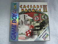 Original Nintendo Game Boy COLOR Caesars Palace 2 Boxed With All Contents VGC