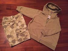 Pre-Owned Gymboree Coordinated Set Of Shorts And Hoodie For Boy Size 18-24Months
