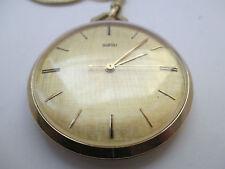 Taschenuhren aus Vergoldet
