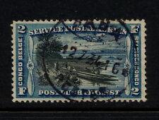 (YYAC 395) Belgian Congo 1921 USED cancel ABA Ship