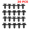 20x 7mm Engine Radiator Trim Cover Clips For Toyota Avensis Corolla