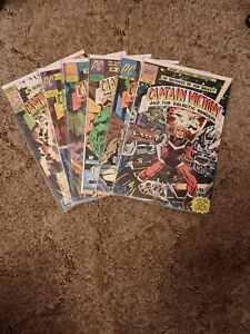 Captain Victory And The Galactic Rangers #1-13 + Special: Pacific Comics: 1981