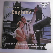"33T BAND OF THE GRENADIER GUARDS Disque LP 12"" HOLIDAY IN ENGLAND - DECCA 4009"