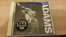 BRYAN ADAMS LIVE LIVE LIVE RARE IMPORT CD 1988 17 TRACKS