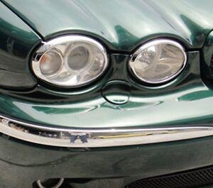 Jaguar X-Type 2001 to 2009 headlight & rear light trims