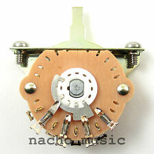 Oak Grigsby 3 Way Switch for Fender Telecaster and pre-1977 Stratocaster