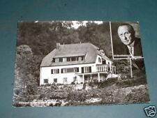 Rhöndorf 1965 Haus adenauer mit Portrait Bundeskanzler