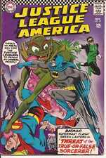 DC Justice League Of America #49 Threat Of The True Or False Sorcerer Superman