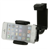 Universal 360° Car Rearview Mirror Mount Holder Cradle For Cell Phone GPS MP4