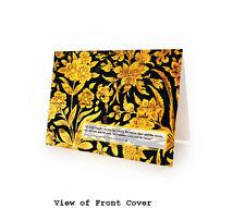 ISLAMIC DUA for FORGIVENESS. BLANK ISLAMIC GREETING CARD - Box of 10 Cards