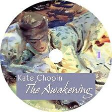 The Awakening Erotic Adventure Audiobook by Kate Chopin on 4 Audio CDs Free Ship