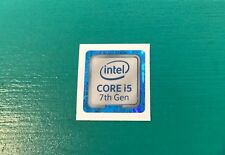 Intel Core i5 inside Sticker Case Badge 7th Generation Kaby Lake USA Seller! NEW