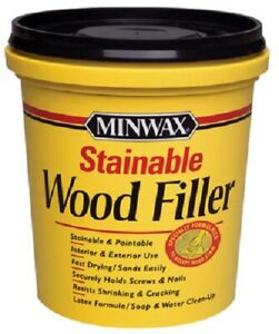 Minwax, LB, Stainable Latex Wood Filler