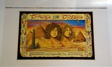 More details for led zeppelin page and plant poster printers proof us 1995