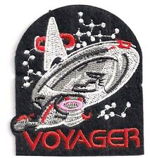 "Star Trek: Voyager  3"" Logo w Ship Patch - USA Mailed  (STPAT-V2)"