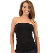 Women's Cotton Strapless Tube Top