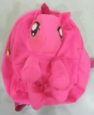 Jiestine🌻pink pony stuff toy mini backpack party needs birthday gift