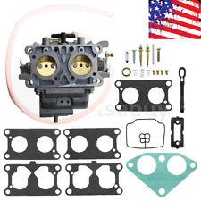 Carburetor + Gasket + Repair Rebuid kit For Kawasaki 15003-2766 Mule 3000 3010..